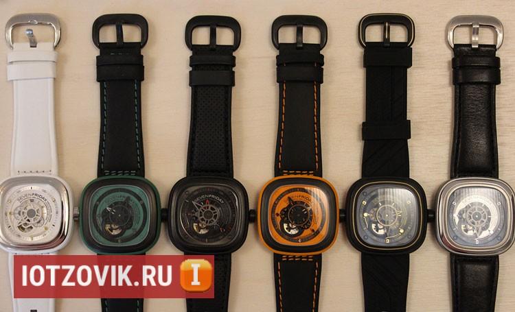 sevenfriday 6 различных видов часов