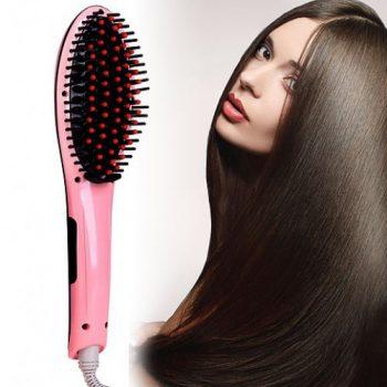Отзывы Электрическая расческа-выпрямитель FAST HAIR