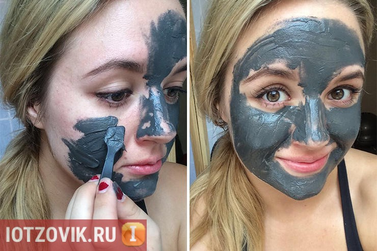 фотография нанесения Magnetic Mask