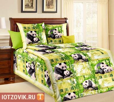 Постельное белье Бязь-люкс с Пандами