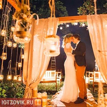 лампочки для свадьбы Edisons