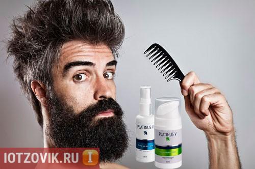 Platinus - средство для роста бороды