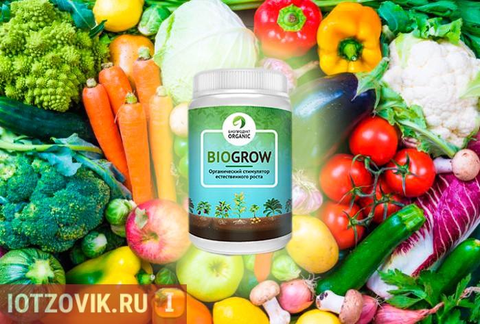 BioGrow биоактиватор роста растений