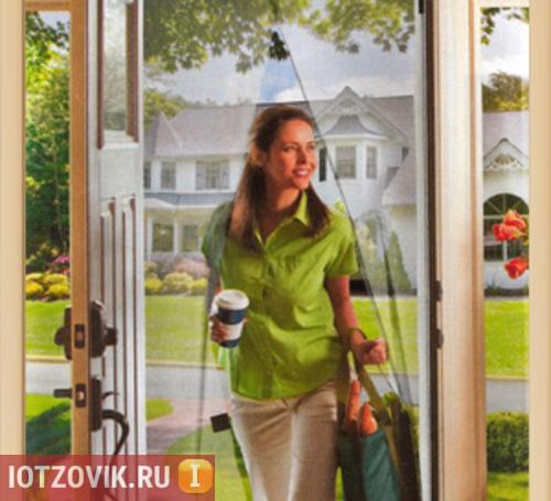сетка от комаров на дверь