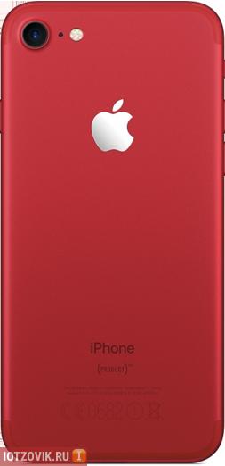 iPhone 7 RED красный реплика