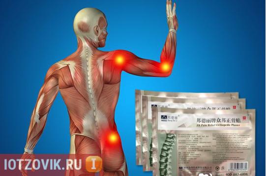 ортопедические пластыри Zb pain relief