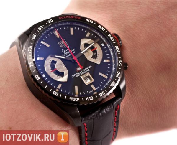 TAG Heuer: Grand Carrera Calibre 17 часы