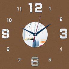 настенные зеркальные часы