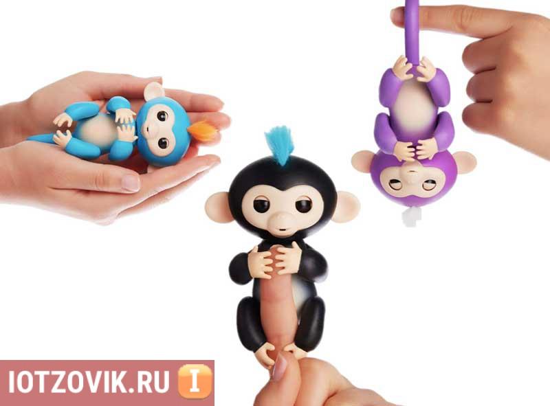 обезьянки игрушки fingerling