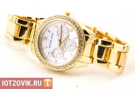 Gold Kors Collection золотые часы