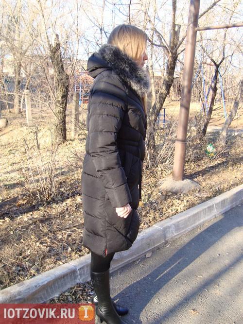 Зимний женский пуховик Miegofce реальные фото