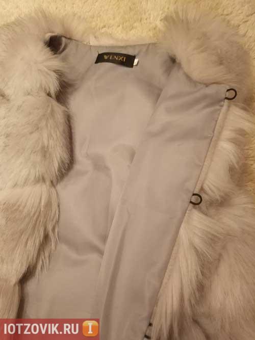 жилетка для девушкаи меховая с али