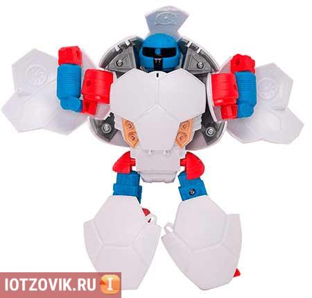 робот мячик