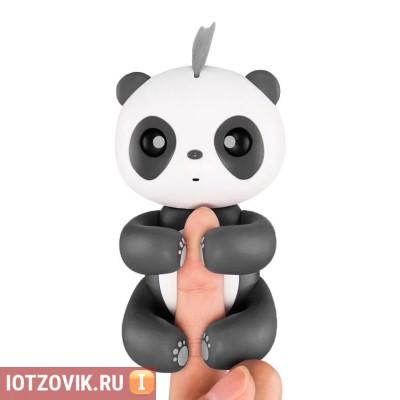 панда на палец игрушка
