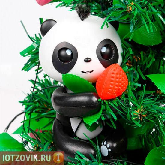панда на палец прилипунцель