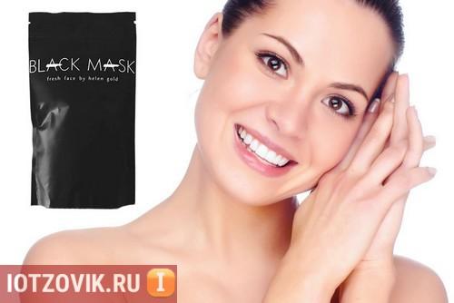 Реклама черная маска
