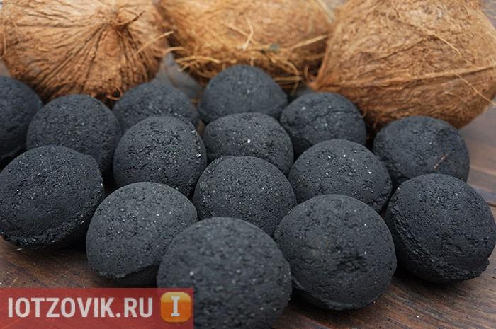 Уголи из кокосового ореха
