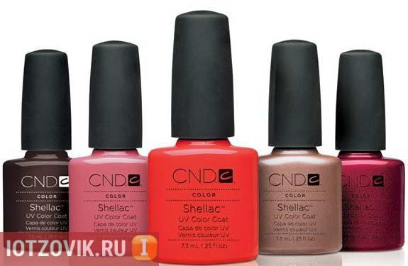 CND Shellac отзывы покупателей