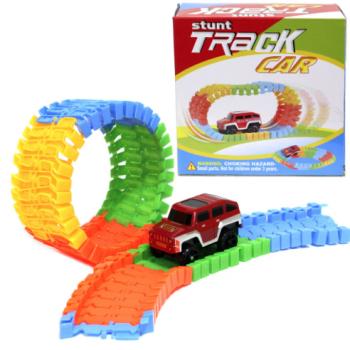 Stunt Track Car