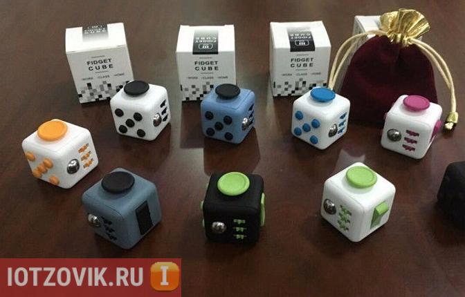 Отзывы покупателей Fidget Cube устройство-антистресс