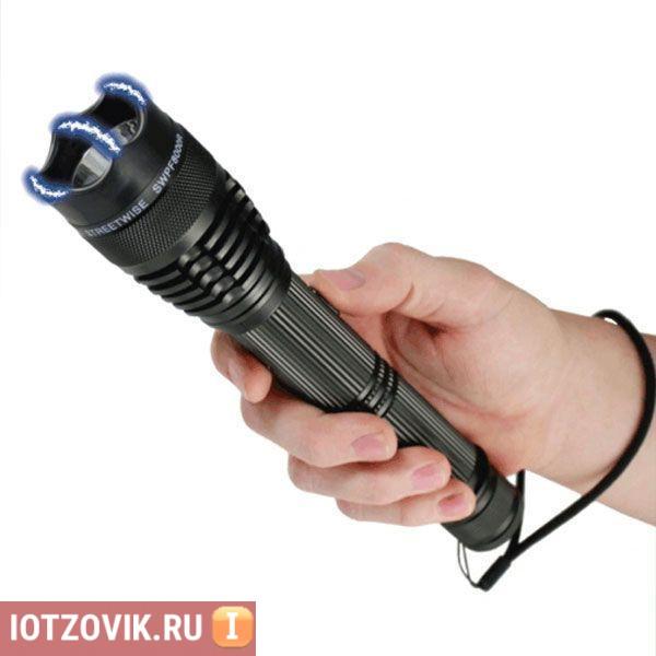 фонарь оса электрошокер