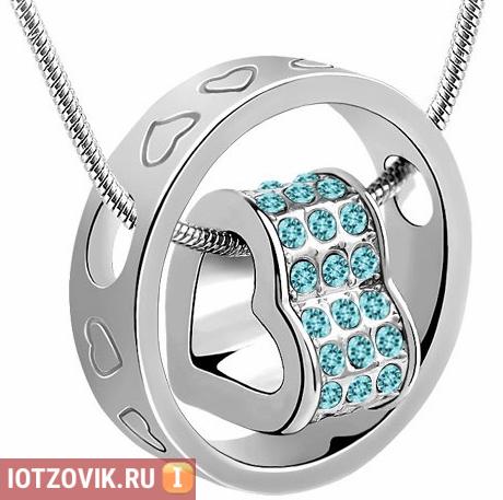 Ring Heart серебряный