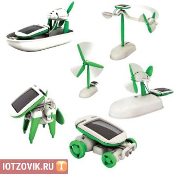 SOLAR ROBOT KITS 6 В 1