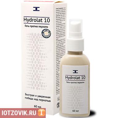 гель от перхоти Hydrolat 10