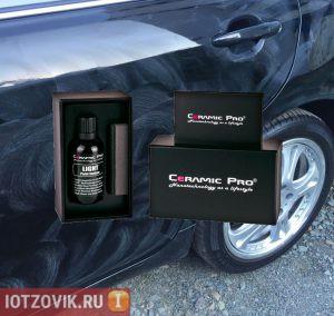 Нанокерамическое защитное покрытие для авто Ceramic Pro