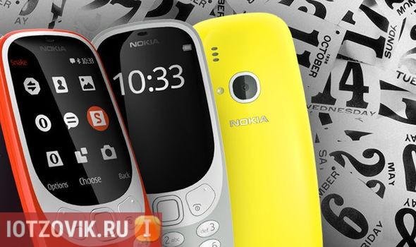 Новый Nokia-3310 отзывы