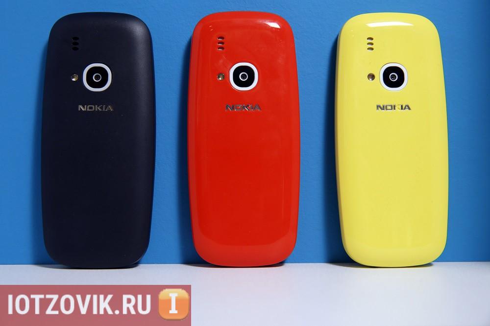 Nokia-3310 вид сзади