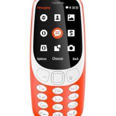 Nokia 3310 новая красный цвет