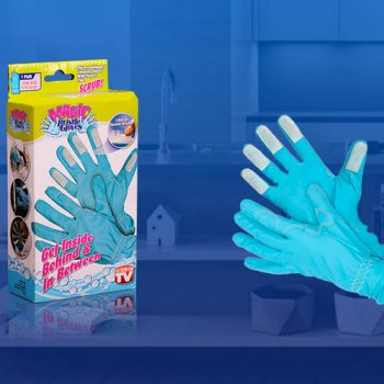 Magic Bristle Gloves