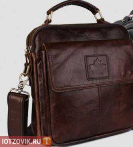 кожаная сумка Canada