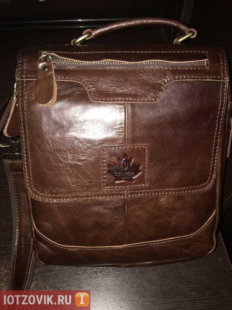 Кожаная сумка Канада