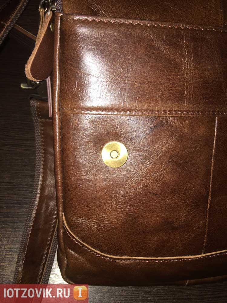 настоящая кожа сумка