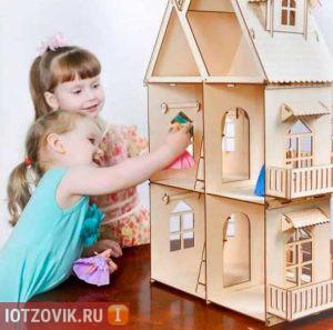 домик для кукол алмазная резка
