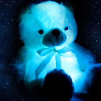 светящийся мишка в подарок