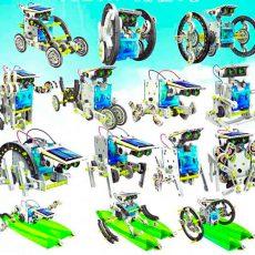 14 роботов набор что можно собрать