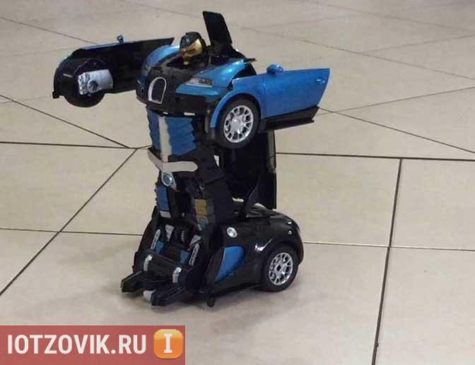 машина трансформер робот HURTLING ARES