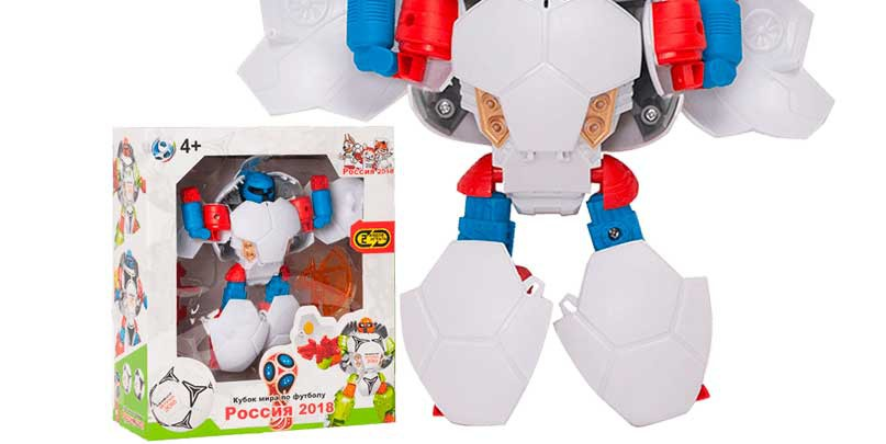 робот мяч футбол