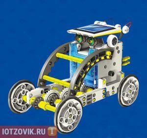 конструктор на солнечных батареях 14 в одном