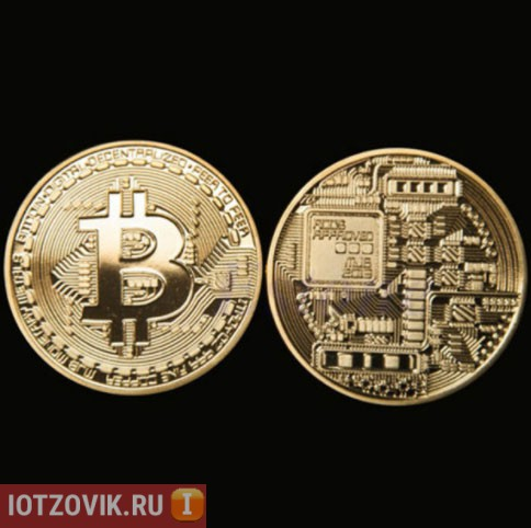 сувенирные монеты биткоин
