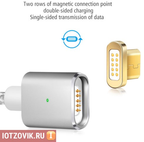 магнитная USB-зарядка для IPHONE