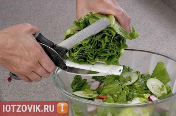 умный нож для кухни
