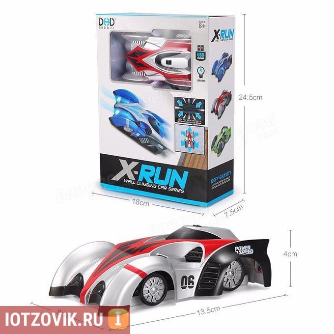размеры набора wall racer