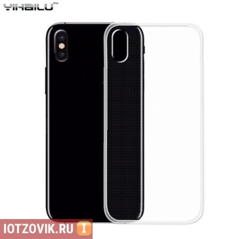 силиконовый чехол айфон 10