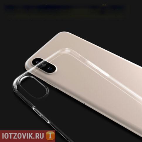 легкий чехол для Iphone X