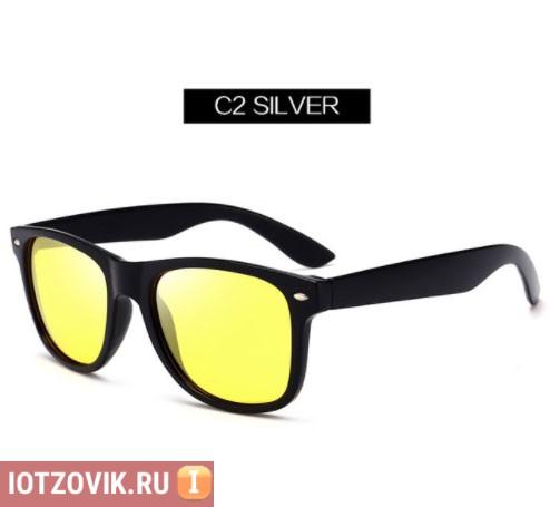 желтые очки с алиэкспресс