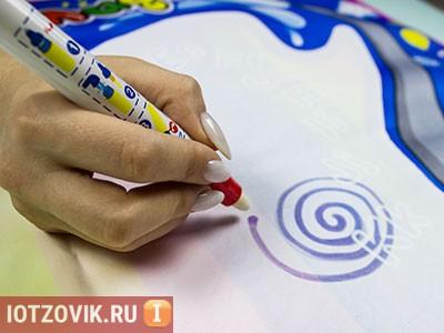 маркеры для рисования на воде